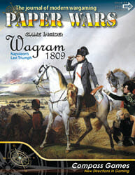 Paper Wars, Issue 93: Wagram 1809 (new from Compass Games)