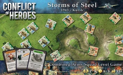 CoH Storm of Steel: Kursk 1943, Third Edition (new from Academy Games)