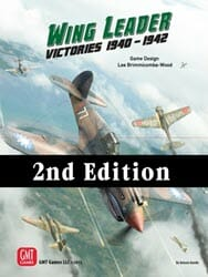 Wing Leader: Victories 1940-1942, 2nd Ed. (new from GMT Games)