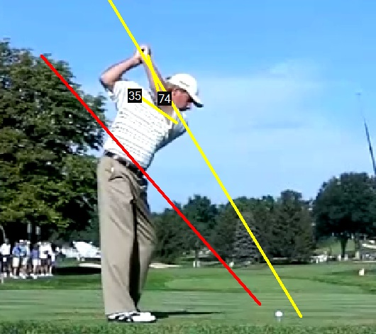Fred Couples Top Of Swing