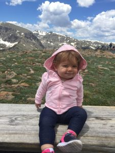 RMNP with a toddler: Sophie in the Rocky Mountain National Park
