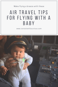 Infant Air Travel Tips