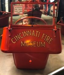 A peek inside the Cincinnati Fire Museum