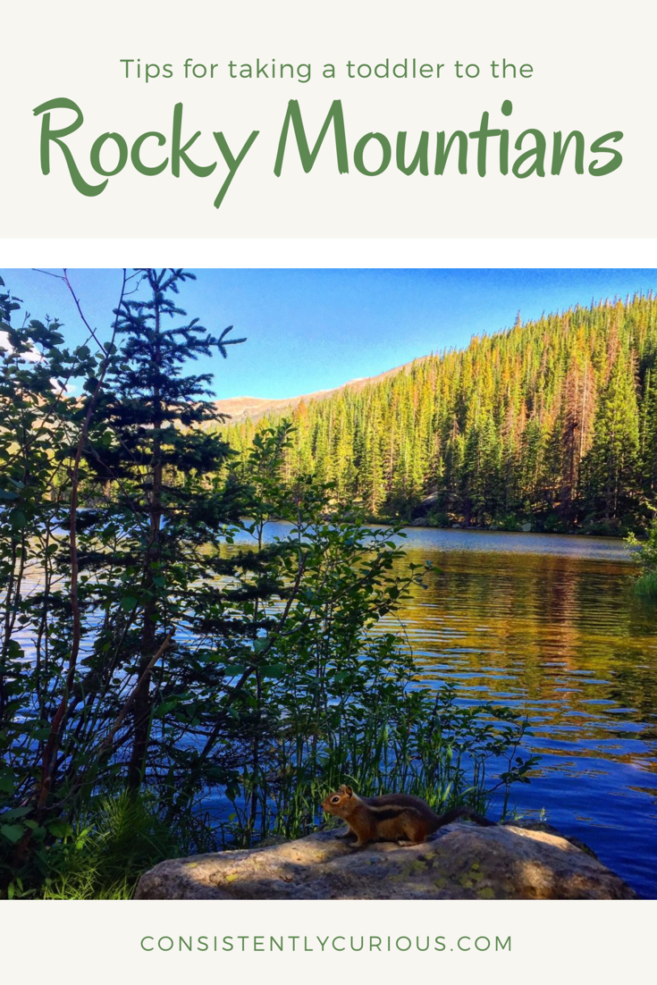 Tips for taking toddlers to the Rocky Mountains