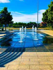 Smale Riverfront Park Fountains