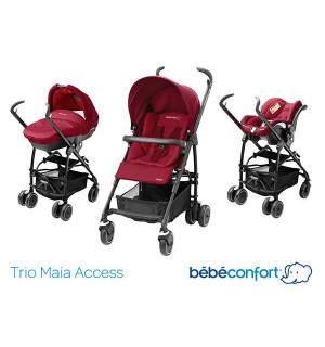 trio poussette maia bebe confort