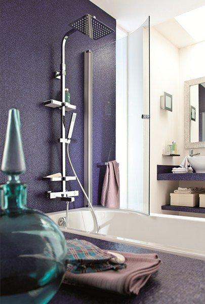 Installer Une Colonne De Douche Dans Une Baignoire
