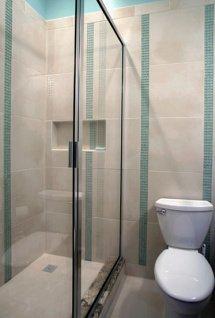 paroi de douche coulissante pour petite salle de bain