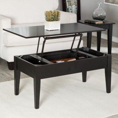 table basse relevable de bureau