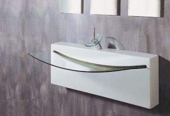 vasque suspendue pour salle de bains