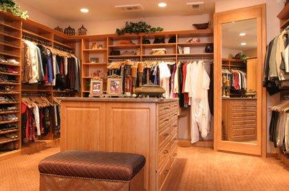 rangez un maximum de vêtements