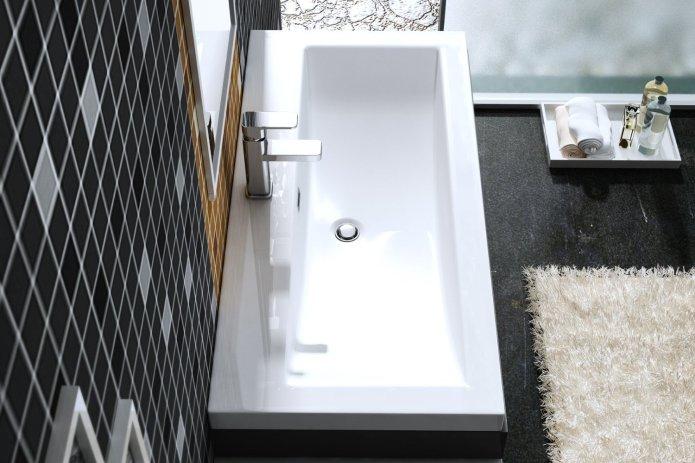 vasque lavabo à poser Colossum blanche