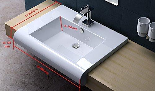 vasque design blanche
