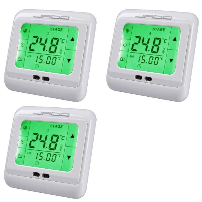 thermostat d'ambiance LCD écran tactile