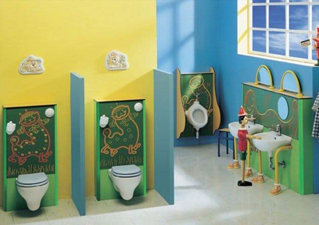 salle-de-bain-pour-enfants-pratique