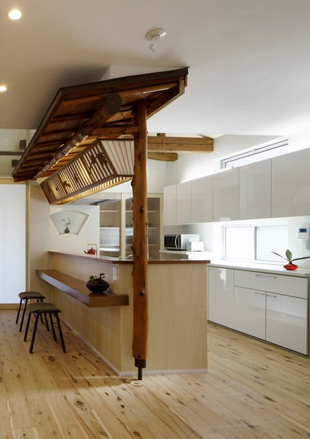le-bois-dans-une-cuisine-japonaise