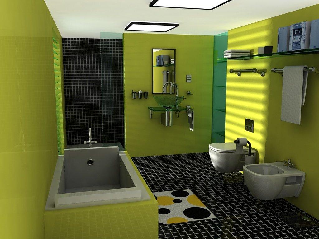 Couleur Vert Salle De Bain quelles couleurs vives pour réaliser une salle de bain moderne ?