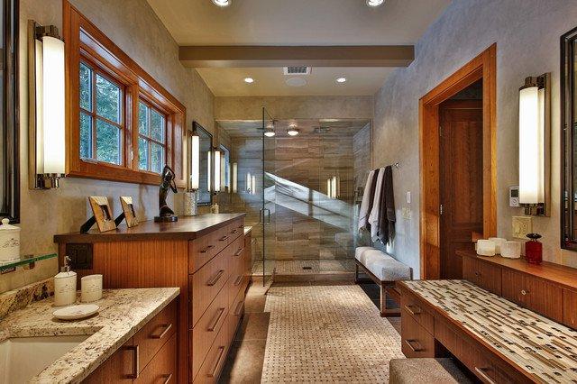 salle-de-bain-en-teck-et-mosaique