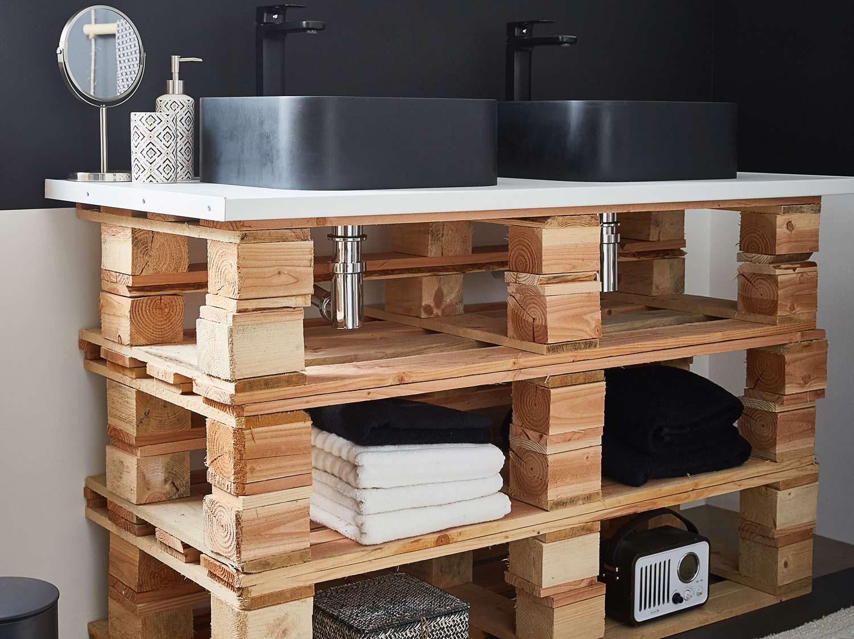 Fabriquer un meuble en palette  12 idées DIY du salon au jardin