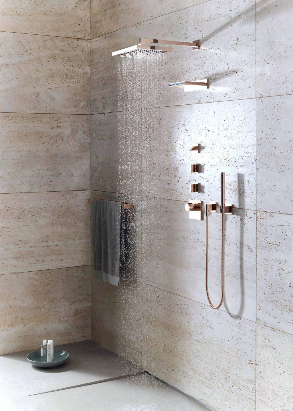 ducha empotradas en la pared termostáticas