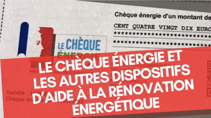 Utilité du chèque énergie