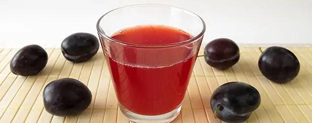 jeûne sans danger jeûner purifier organisme santé fruits jus de prunes