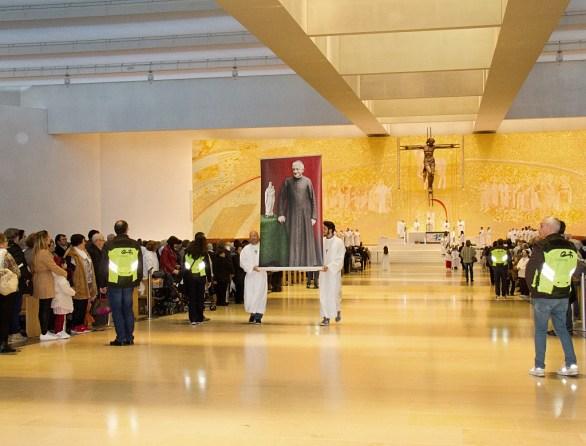 29ª Peregrinação da Família Missionária da Consolata a Fátima. Presidiu à celebração o bispo do Porto, Manuel Linda