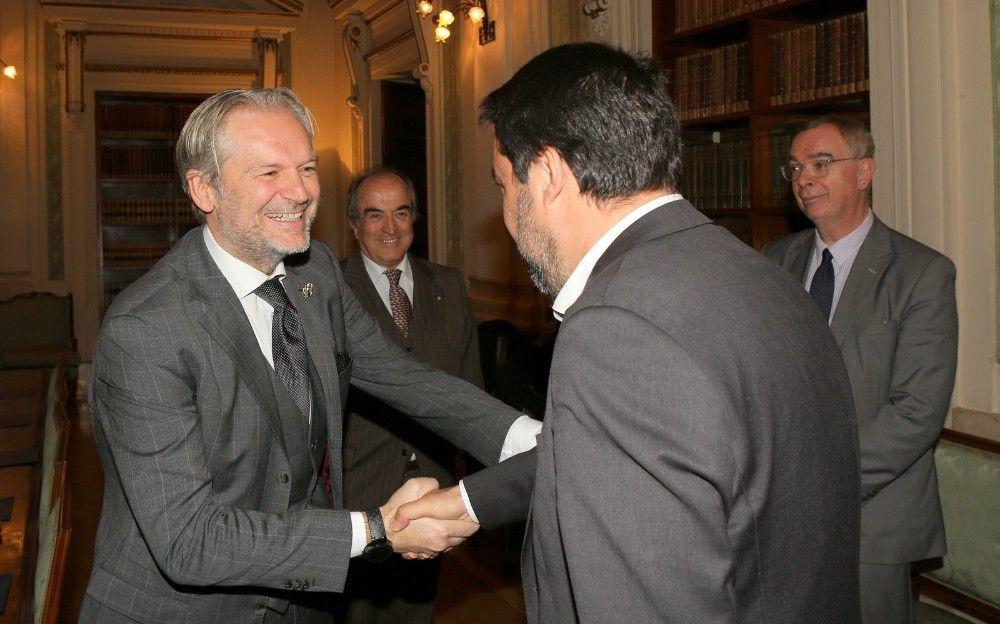 Colasuonno Taricone e il ministro Salvini