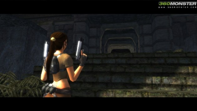 2 new Lara Croft Tomb Raider Legend screens