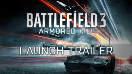 Battlefield 3 - Armored Kill Launches