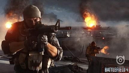 Battlefield 4 Megalodon (BIG-ASS SHARK) Found In Naval Strike DLC