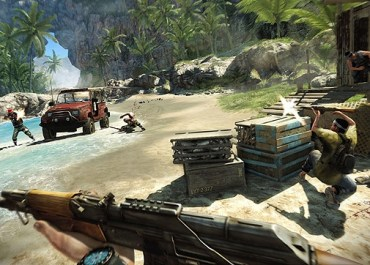 Far Cry 3 Is TEN Times Bigger Than FC2