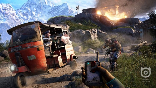 Far Cry 4 map editor doesn't support competitive multiplayer