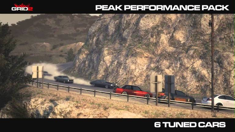GRID 2 Peak Performance Pack DLC Video and Details