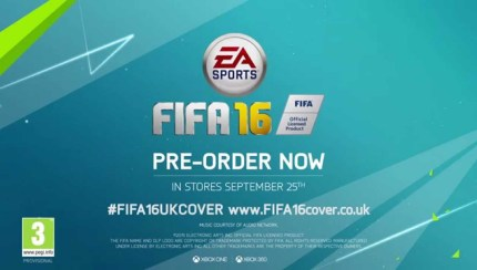 Gamers to choose FIFA 16 cover star