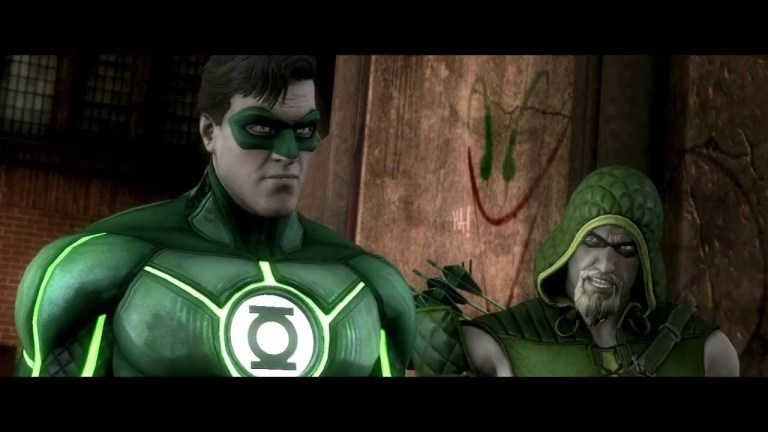 Injustice: Gods Among Us - Green Lantern Trailer