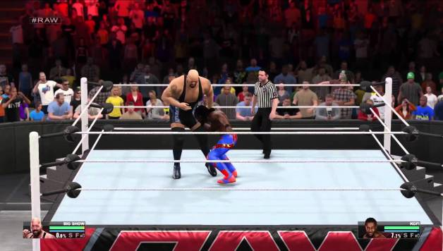 Learn About the Controls in WWE 2k15
