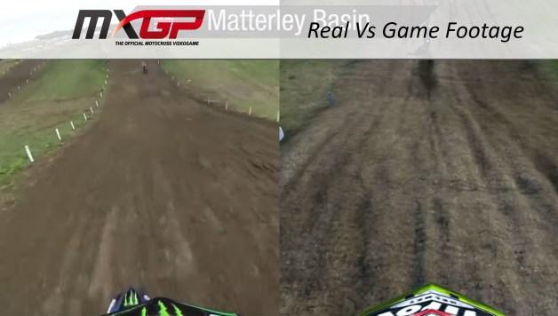 MXGP  - Real vs Game