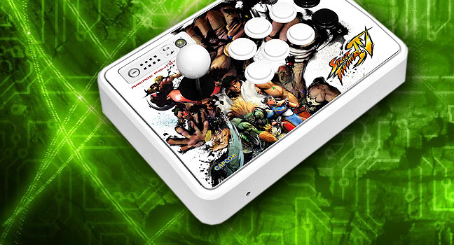 Mad Catz Street Fighter IV FightStick Review