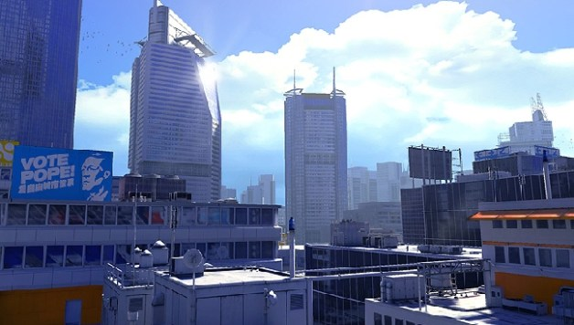 Mirror's Edge E3 trailers and walkthrough