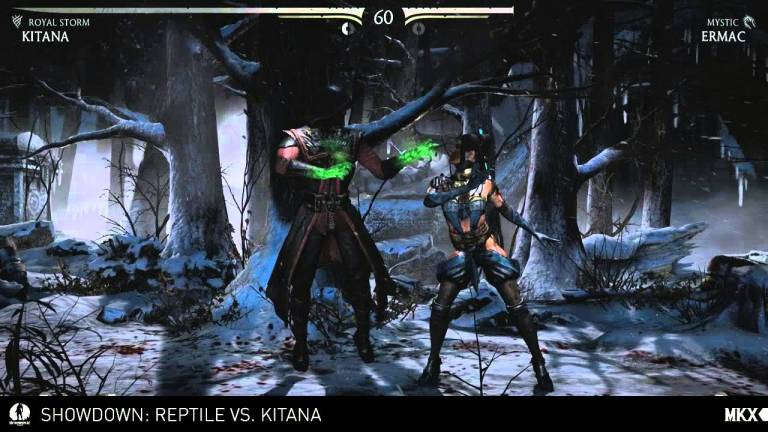 Mortal Kombat X - Developer Stream: Kitana vs. Reptile