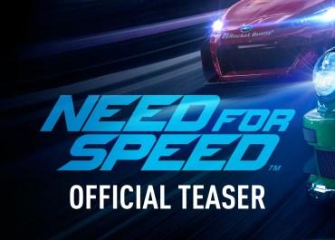 Need for Speed - Teaser Trailer