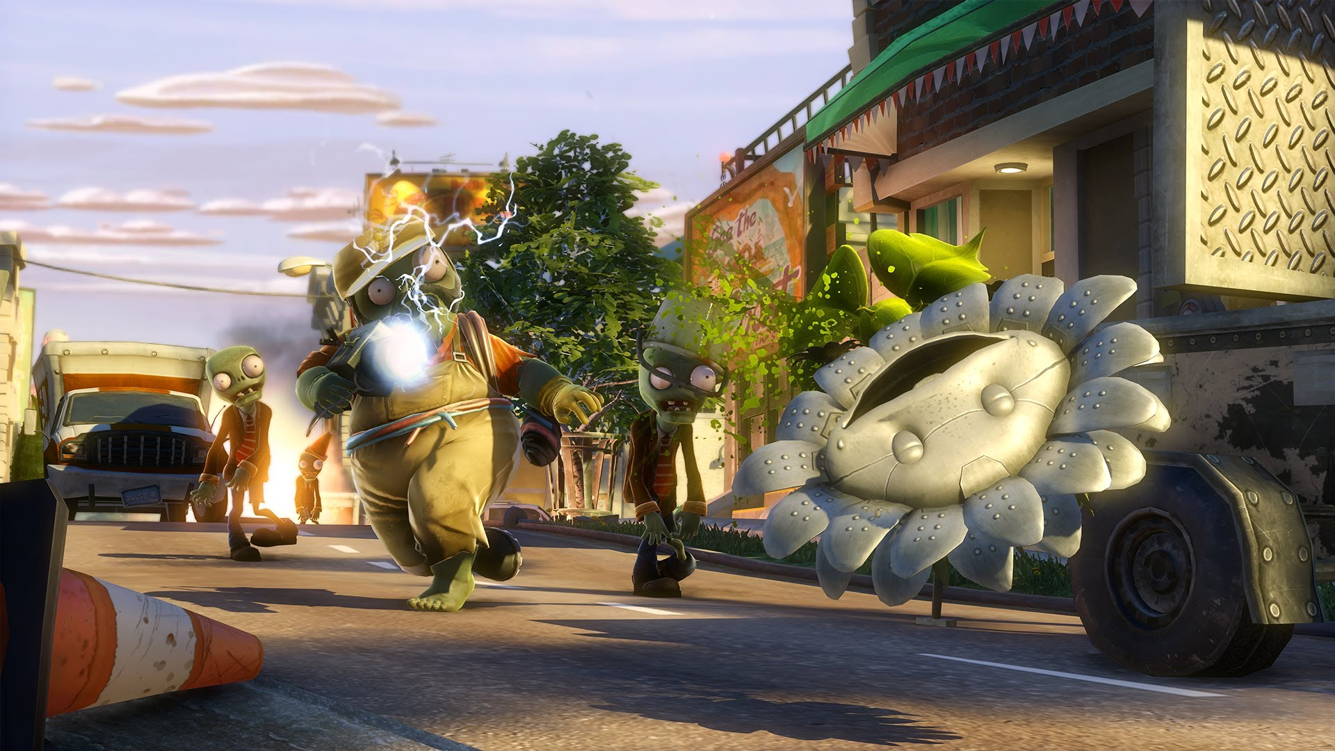 Plants Vs. Zombies Garden Warfare U2013 Gameplay Trailer