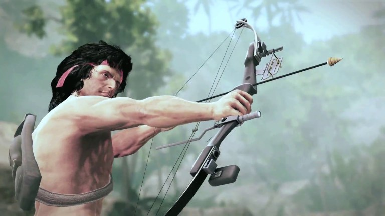 Rack up a body count in Rambo: The Video Game's latest trailer - Machine of War Trailer