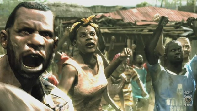 Resident Evil 5 Trailer in full on the Marketplace
