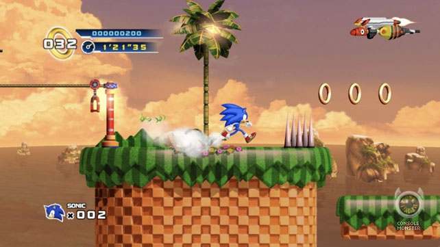 Sonic returns to 2D routes