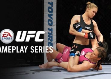 UFC - Ronda Rousey vs Miesha Tate Gameplay