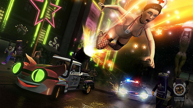 Xbox Live Gold members can now download Saints Row The Third for free