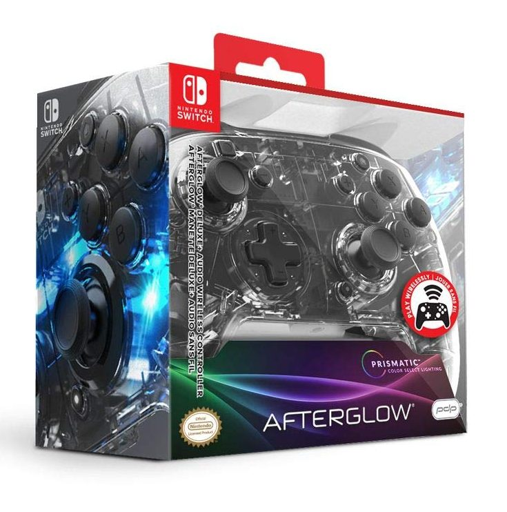 PDP Afterglow Wireless Switch Controller