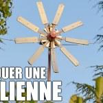 Fabriquer son éolienne